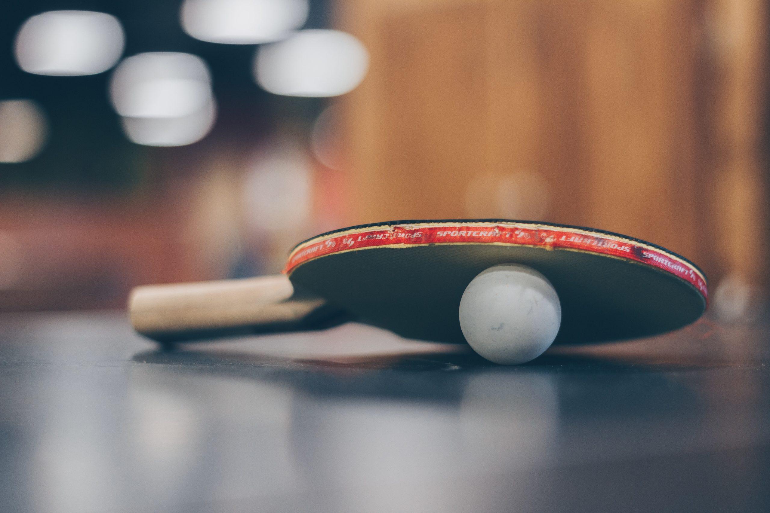 animateur sportif et tennis de table
